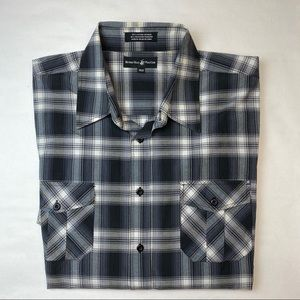 BEVERLY HILLS POLO CLUB 3XLB CASUAL BUTTON DOWN